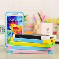 Hot sale colorful 3 in 1 hybrid NX mobile phone case for Samsung s5 for i9600
