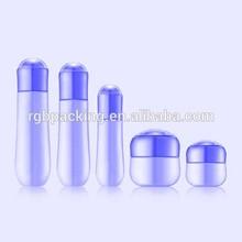 Hermoso de alta calidad caliente venta al por mayor de vidrio vacías y bomba de la loción botella, botella de la loción bombas