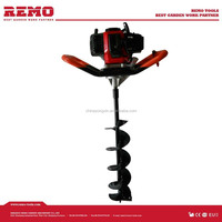 gasoline earth auger driller RM-ED49D,window drill design