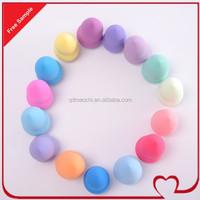 Free Sample Fashionable OEM Service Colorful cosmetic sponge