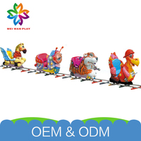 Best Quality Unique Design Playground Electric Equipment Amusing Customized Electric Train Set For Adults