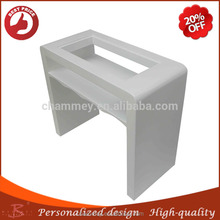 shrewd in money matters wood Commercial nail pedicure desk,wood fold up cosmetic table