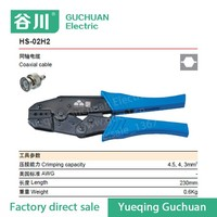 HS-02H2 Ratchet Crimping Tool Piler Capacity 4.5/4/3mm2 for coaxial connectors