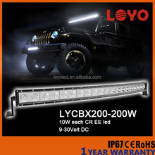 LOYO curved car led light bar 12v, led rigid bar light, adjustable headlight car led light bar offroad