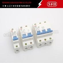 Yueqing DZ47-63 high breaking capacity mini Circuit Breaker (C45) mcb switch