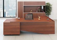 Hot sale modern wooden melamine executive office desk/manager table/ceo office desk