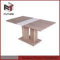 diseño nuevo y moderno de madera de largo mesas de comedor para la venta