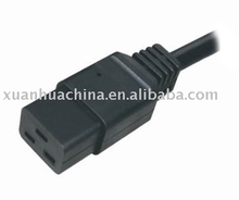 Aerica and Euro VDE UL approved C19 power cord