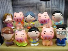 custom cartoon Character Figurines, oem plastic cartoon character collectables, make your wom cartoon miniatures