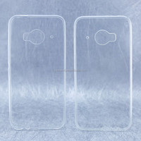high transparency white clear TPU material hot selling plastic case for HTC ONE ME9 mobile phone model