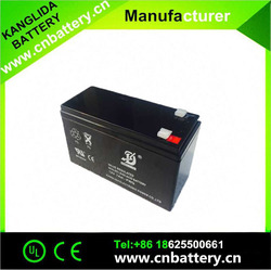 Hot maintenance free backup battery rechargeable sealed lead acid battery 12v 7ah