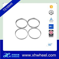 4pcs aluminum hub centric rings vehicle wheel spacer