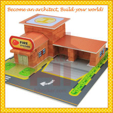 New Famous Children Toys New Mini Construction New Kids Toys for 2015 DIY Craft Hibricker with EN71 Certificate