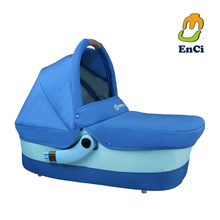 Enci-T1 lightweight safety cot blue color crib