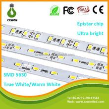 PCB board true white 12v rigid lamp led strip light for clothes