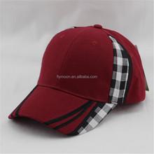 Good quality 2015 cotton twill 6 panels custom baseball cap