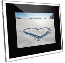 sd usb advertising player digital picture frame memory 15 inch