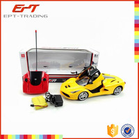 Hot selling rc model car for kids 5CH radio control toy with battery