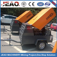 8bar Mini Diesel Screw Air Compressor/Trailer Air Compressor/Industrial Air Compressor