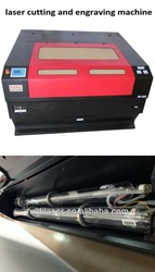 GUANGZHOU Manufacturer CO2 Laser Cutting Machine RD-1310S Special for Fabric, Garments,Leather,Double-color Board, PVC,Die-board