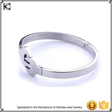 Factory direct sales wrench metal silver stainless steel cuff bracelet