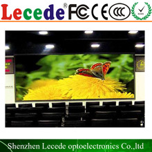 p6mm full color indoor swimming pool led video wall