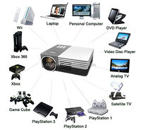 Support 23 Languages led projector 1920x1080 mini led video projector