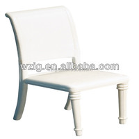 Model seats plastic white chair models , miniature plastic chair furniture House room