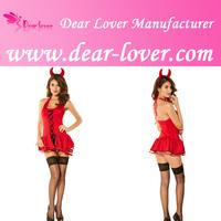 3PC Sexy Halloween Devil Costume Sexy Costume Wholesale Lingerie Online
