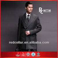 2015 black 100% wool suit coat by tailor made/bespoke men suits