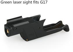 Hot sale Pistal glock green laser sight fits G17 GZ20-0033