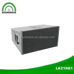 Pro audio power passive line array speaker subwoofer/high end sound system