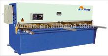 hydraulic swing beam shearing machine, aluminum shearing machine