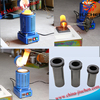 Gold Aluminum Lead Mini Induction Melting Furnace