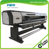 Cheap 2.5m WER ES2502I car sticker,poster printing machine,eco solvent indoor outdoor printer