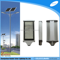 galvanized angle bracket solar lights security lights for driveway with double light arms