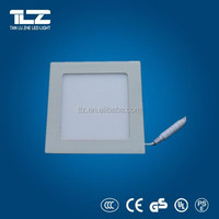 CE & RoHS certificate 3 years warranty White frame round LED panel light 240x15mm