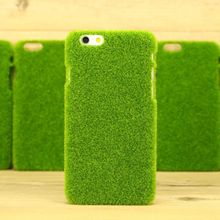 grass green back case for apple for iphone 6, stylish cell phone case for iphone 6 plus