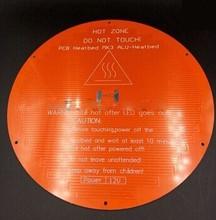 Best price 3 d printer Delta rostock aluminum plate round hot bed PCB Heatbed MK3 ALU - He