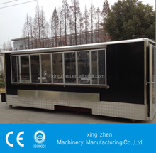 The best selling mobile kitchen van with CE