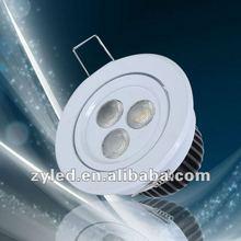 3*1W Downlight LED
