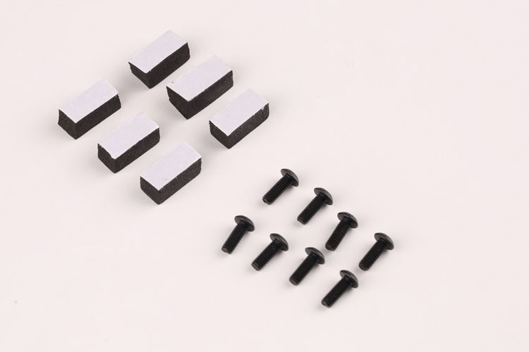 Free shipping New Tall Landing Skid Gear For DJI Phantom 1& 2 Vision Gimbal Wide & High Extend Parts