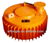 Suspension dry conveyor electric magnetic separator