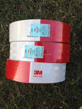 Wholesales coated with high density acrylic glue 3M reflective tape diamond grade for truck