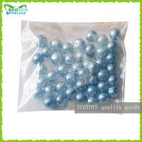 Light blue crystal soil in bag, PP bag blue crystal soil