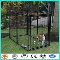 removable metal modular DIY heavy duty iron dog cage