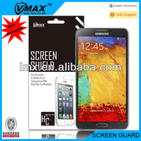 Matte touch screen protector film for Samsung galaxy note3 oem/odm (High Clear)
