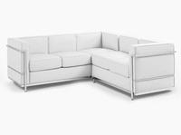 Mid centry designer furniture / Le corbusier corner sofa 7017-SH