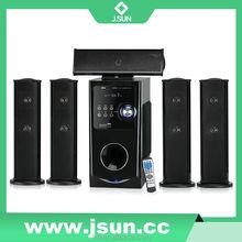 5.1 multimedia speaker with usb sd fm remote