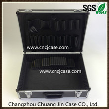 Aluminum tool suitcase with tool plate and safe locks